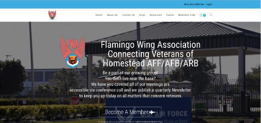 Flamingo Wing Association new Home Page
